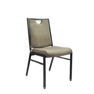 Modern Unique Design Aluminum Stacking Banquet Dining Chair