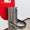 New Stainless Touchless Pedal Hand Soap Dispenser Stand