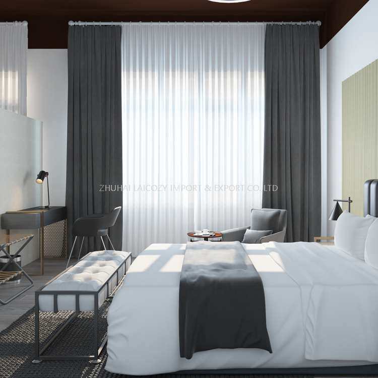 Business hotel modern design apartment guest room furniture