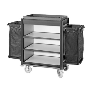Hot Sale Alumnium Hotel Housekeeping Maid Cart