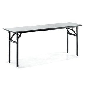 Hotel Banqueting Steel Frame Foldable Rectangular Dining Table