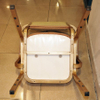 Hotel Restaurant Stackable Dinning Aluminum Banquet Chair