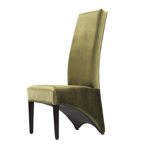 High quality hotel modern dining steel chairs Restaurnat banquet chair Velour seat cover
