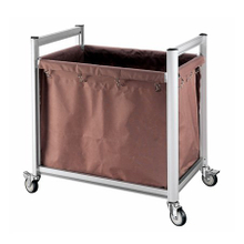 High Quality Hotel Housekeeping Aluminum Laundry Trolley Linen Cart