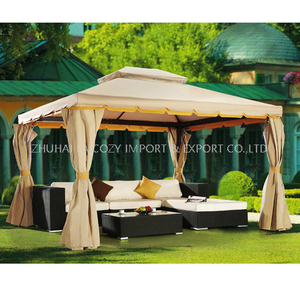Outdoor Luxury Aluminium Tent with Curtain with Mosquito Net