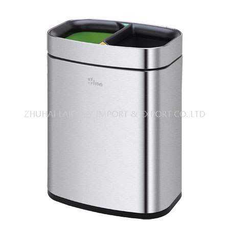 Hotel guestroom indoor metal dustbins 10L