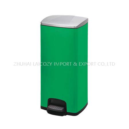 Stainless steel 30L pedal indoor dustbins for hospital