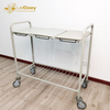 Frame Foldable Hamper Stainless Steel Laundry Carts