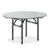 hotel large dinning plywood metal frame square table
