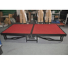 good quality foldable mobile stage with red carpet for hotel