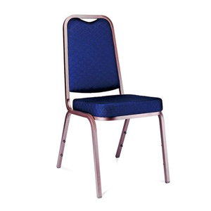Hotel Banquet Hall Modern Stackable Steel Dining Chair