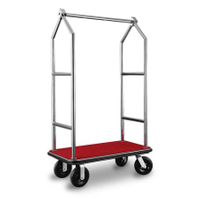 304 Stainless Steel Hotel Luggage Cart Cheap