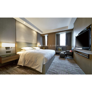FFE & OSE project luxury modern Marriott Hotel guest room furniture