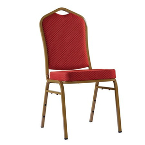 Hotel Restaurant Stackable Dinning Steel Banquet Chair