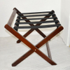 Hotel guest room solid wood folding luggage rack