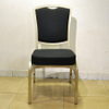 aluminium stacking banquet dining chair with flexible back