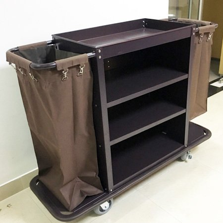 hotel high quality housekeeping collected trolley