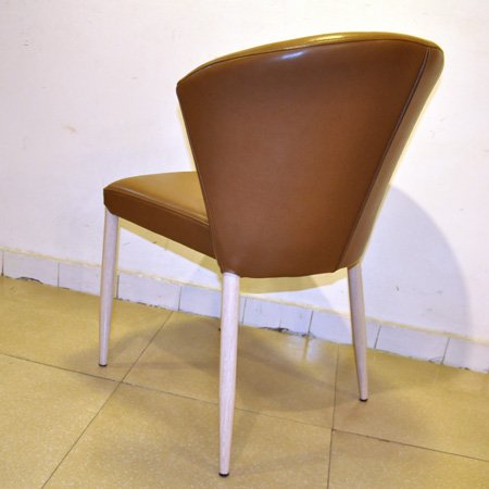Iorn chair with PU seat for restaurant bar steel chair