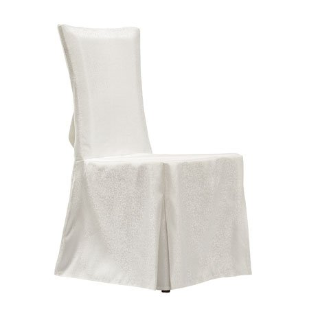 Hotel Luxury White Fabric Cover Banquet Chair Cloth