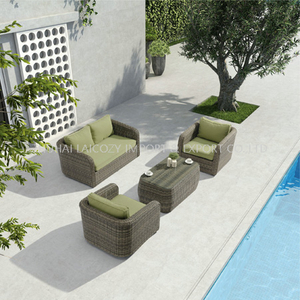 Outdoor Good Quality Aluminium PE Rattan Furniture