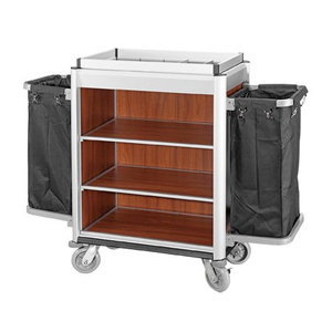 Durable Hotel Housekeeping Cleaning Cart for hot sale