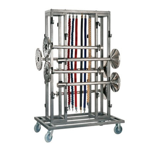 high quality metal trolley for stanchion delivery