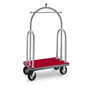 Used movable special five star hotel bellman trolley