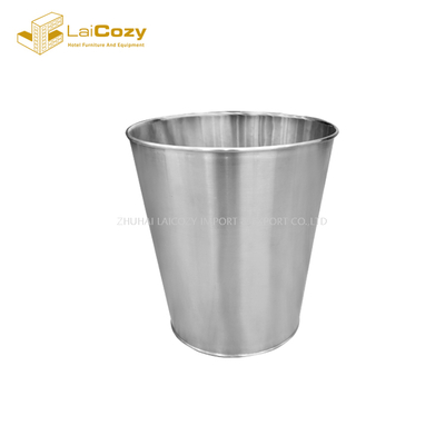 Hotel guestroom new design stainless steel indoor dustbins