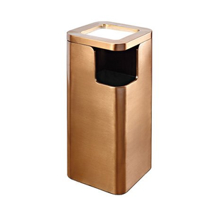 Good Quanlity Hotel Metal Indoor Dustbin with Lid