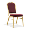 Durable hotel banquet chair in aluminium frame