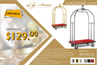 promotion for luggage cart