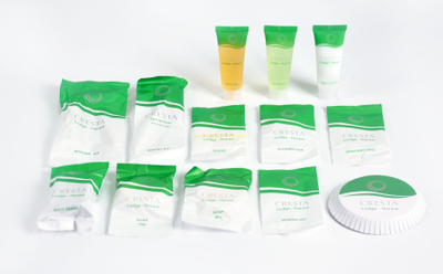 Disposable 4-5 star hotel bathroom amenities set