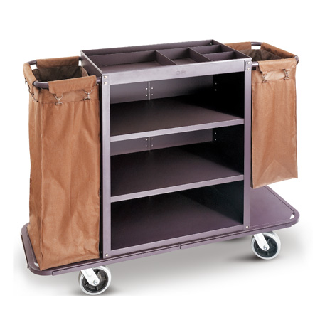 High quality and professional aluminum housekeeping cart